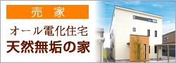 オール電化住宅 天然無垢の家【売家】