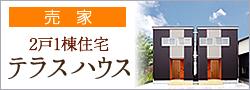 2戸一棟住宅テラスハウスの家【売家】